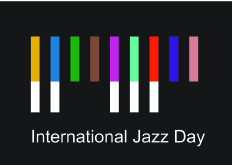 internation jazz day logo 2014