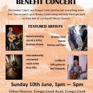 Eungai Fire Benefit Concert – Sunday June 10th